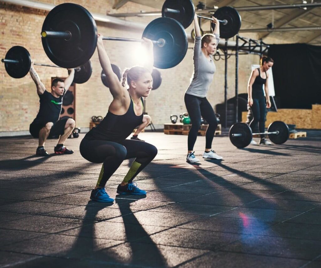 Photo of people working out